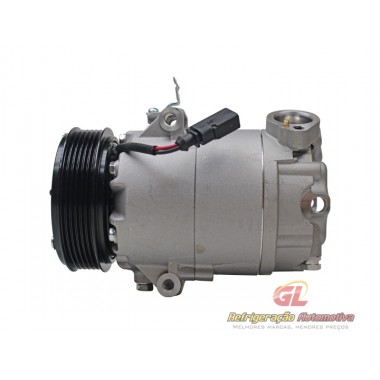 Compressor CVC Volkswagen Fox, Cross Fox, Space Fox, Polo 2004 em diante, Fox 6pk 110mm R134a 135cc